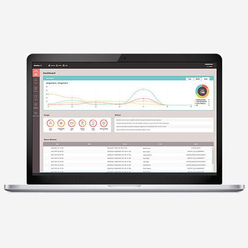 Suprema Biostar 2 software de controle de acesso e presença