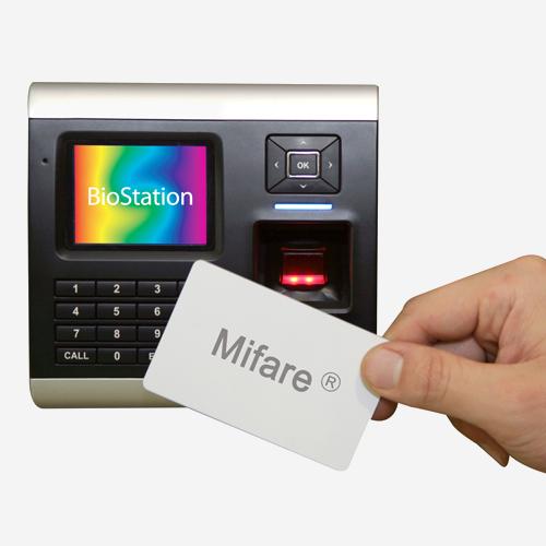 Terminal biométrico de huella dactilar Suprema BioStation - Kimaldi