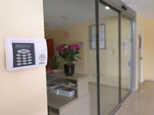 Zutrittskontrolle Krankenhaus