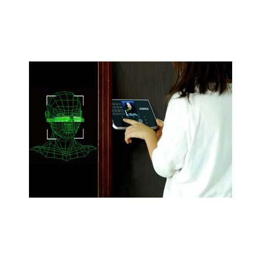 Reconhecimento biométrico facial 3D para restauração