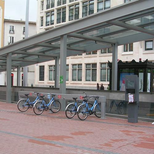 Sistema de préstamo automático de bicicletas
