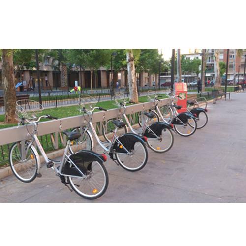 Sistema de alquiler automático de bicicletas