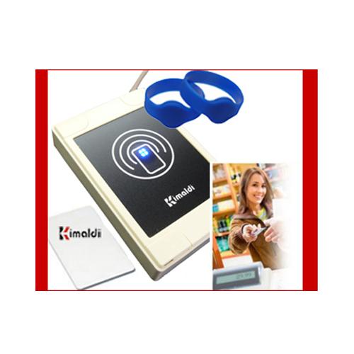 Tarjetas RFID prepago para servicios medidos en tiempo y con control de consumo