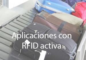 Aplicaciones con rfid activa