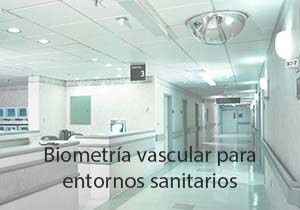 Biometria vascular para entornos sanitarios