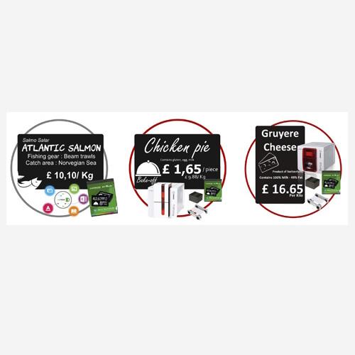 Bundle de impresión para tarjetas Porta Precios