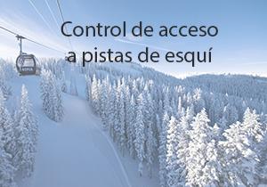 Control de acceso a pistas de esqui