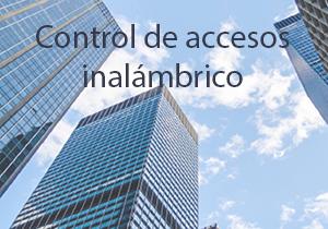 Controlo de acesso a edifícios sem fios