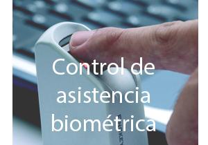 Controlo biométrico de assiduidade