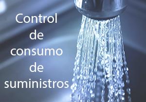 Control de consumo de suministros