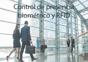 Control de presencia biométrico y RFID