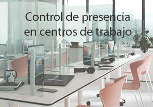 Control de presencia en centros de trabajo