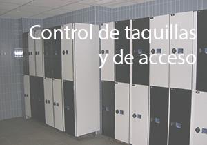 Control de taquillas y de acceso