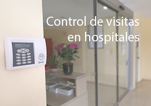 Controlo de visitas em hospitais