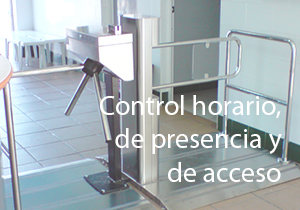 Control horario, de presencia y de acceso