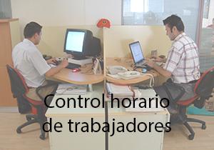 Control horario de trabajadores