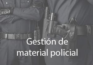 Verwaltung der Polizeiausrüstung