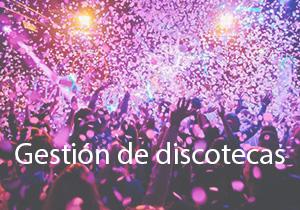 Gestión de salas y discotecas