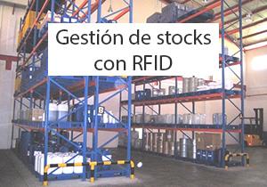 Gestión de stocks con RFID
