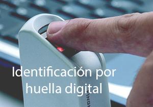 Identificacion por huella digital