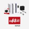 Impresión de tarjetas plásticas porta-precios Edikio_Duplex