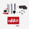 Impresión de tarjetas plásticas porta-precios Edikio_Flex