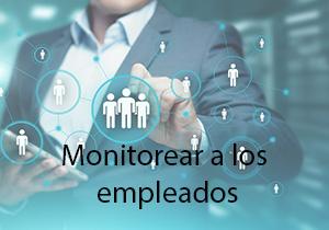 Monitorear a los empleados