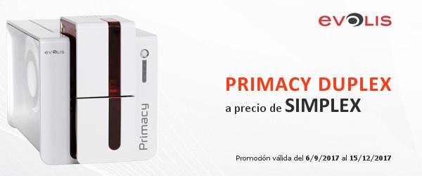 Promoción impresora Primacy Duplex Expert