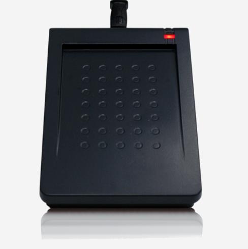 Lector de proximidad 13.56MHz RD200-U1 USB emulación teclado y RS-232 virtual.