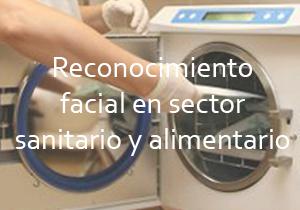 Reconocimiento facial en sector sanitario alimentario