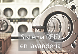 Sistema RFID em lavandaria