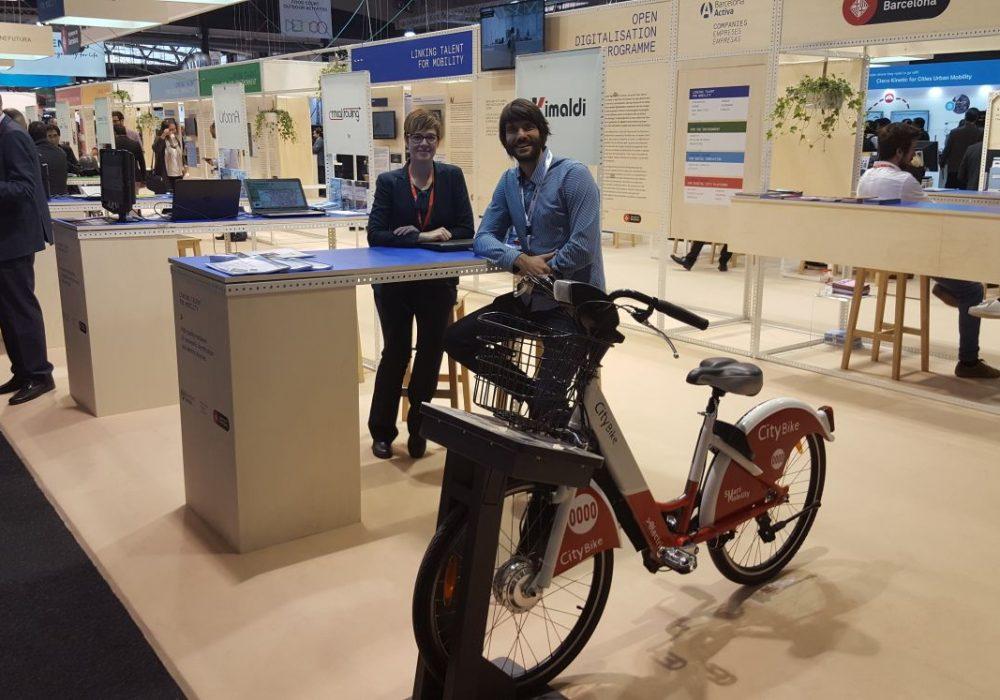 Kimaldi participa junto con eMobike en Smart City Expo World Congress