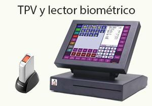 TPV y lector biométrico