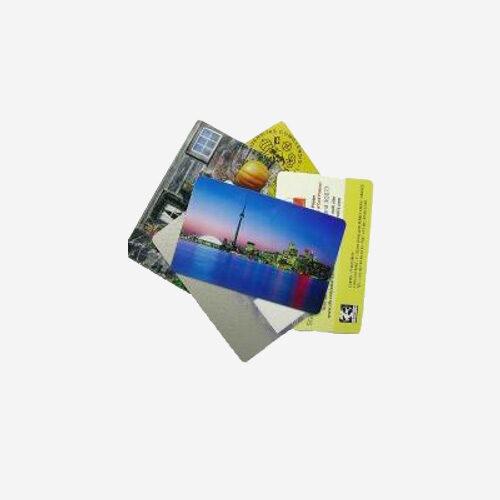 Cartões de proximidade pré-impressos