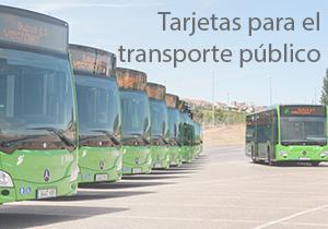 Tarjetas para el transporte