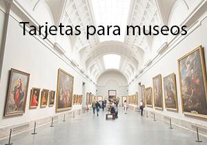 Tarjetas para museos