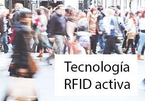 Tecnología rfid activa