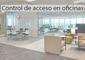 control de acceso en oficinas