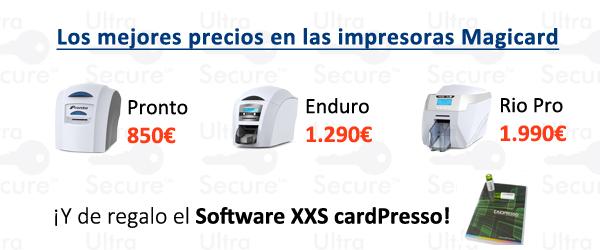 Promoción impresoras Magicard con software de regalo