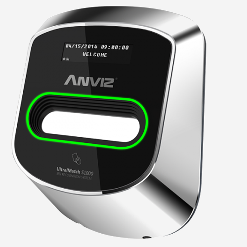 iris recognition terminal anviz ultramatch