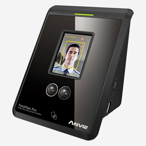 Terminal de reconocimiento facial 3D Anviz FacePass Pro - Kimaldi