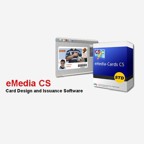 Software de edição de cartões eMedia CS