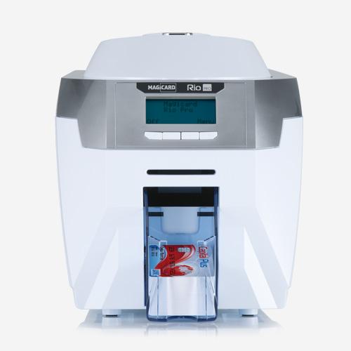 impresora de tarjetas magicard rio pro