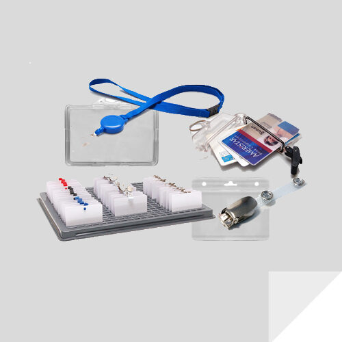 Identificative cards accessories