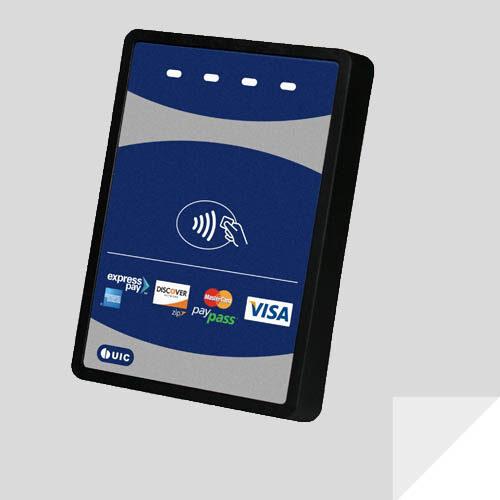Leitores RFID HF para quiosques e aplicações de ponto de venda