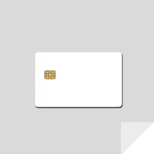 Magnetic stripe & chip card