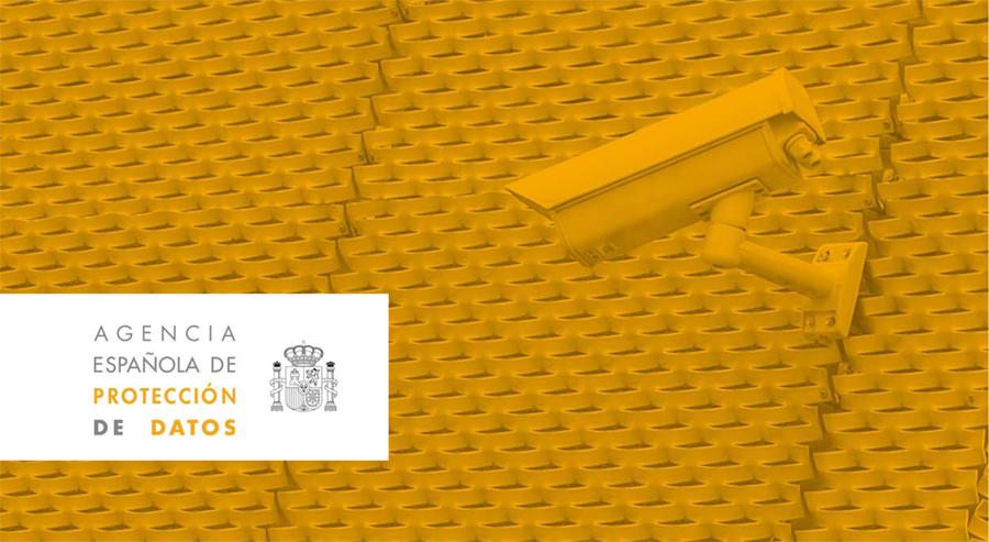 Guía de uso legal de videocámaras creada por la AEPD