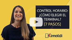Control horario cómo elegir el terminal Kimaldi