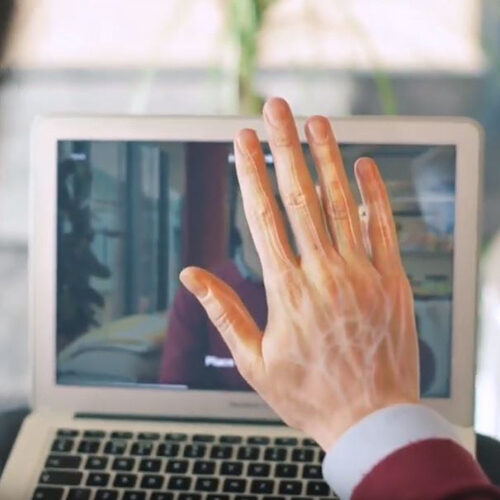 hitachi hand gesture technology - aplicacion login a windows