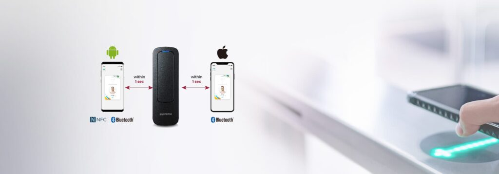 Suprema Mobile Acces_Compatible con NFC y BLE